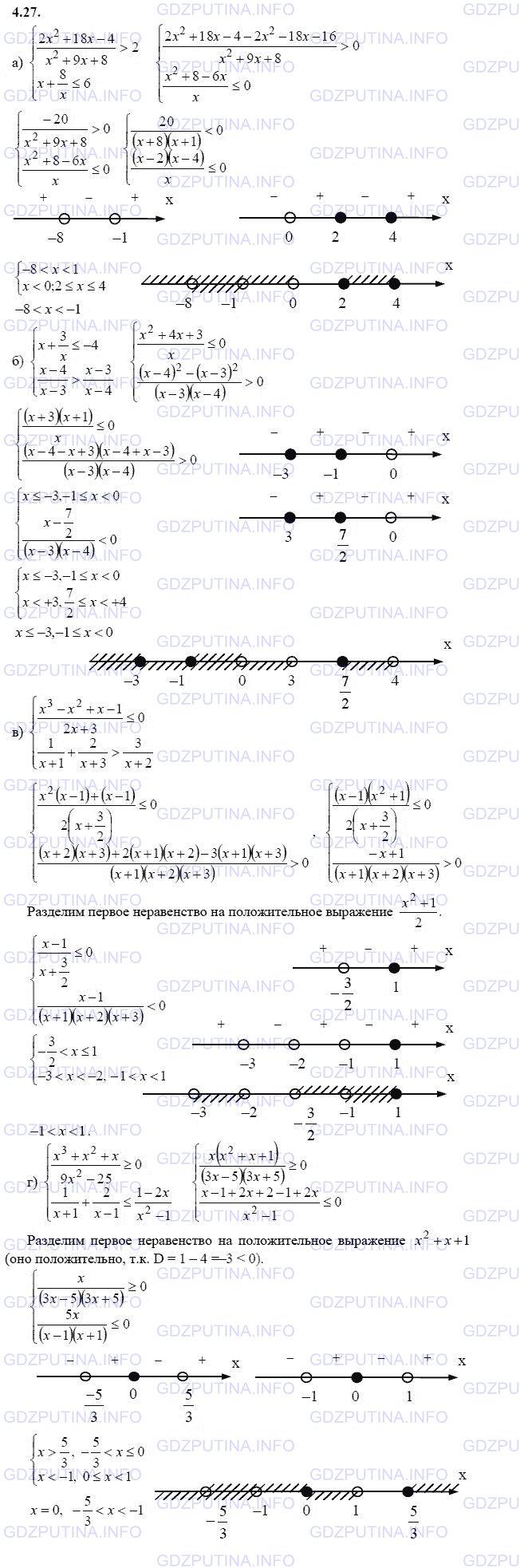 мордкович гдз 9 класс математика александрова